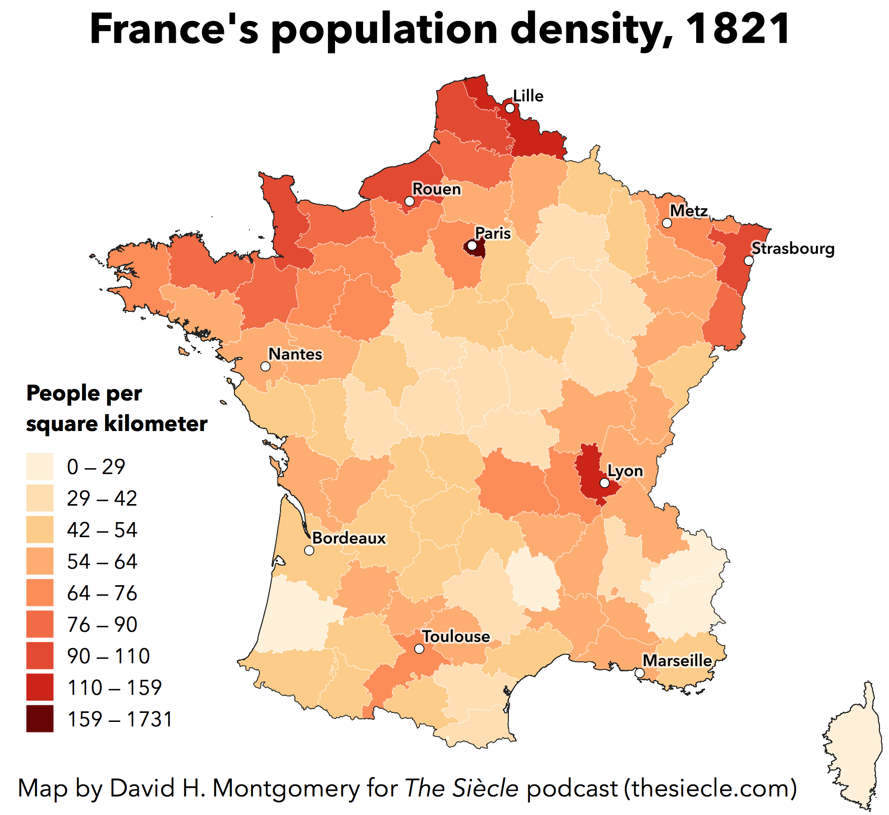 Map Of France Showing Lyon.Episode 3 The Kingdom Of Louis Dix Huit